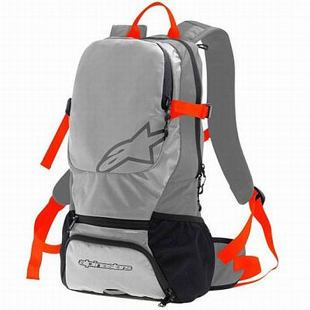 Alpinestars Faster Back pack - Steel Gray Spicy Orange
