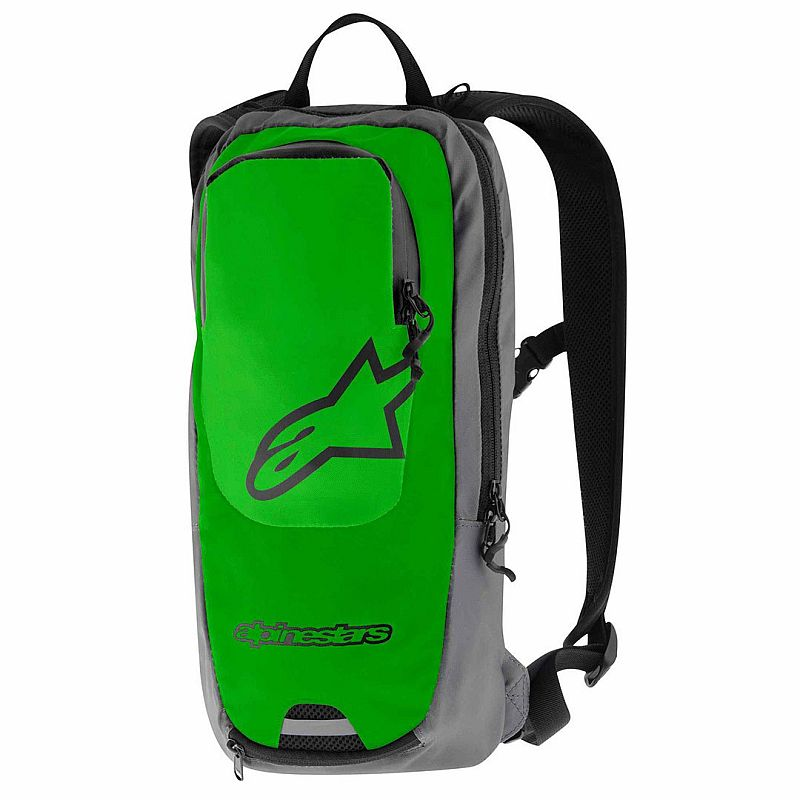 Alpinestars Sprint batoh - Bright Green Steel Gray