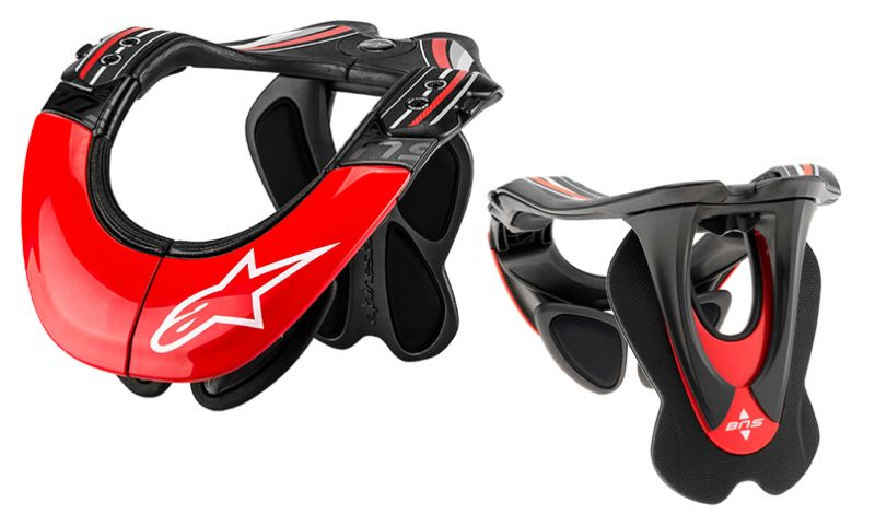 Alpinestars BNS TECH Carbon - Bionic Neck Support Pro