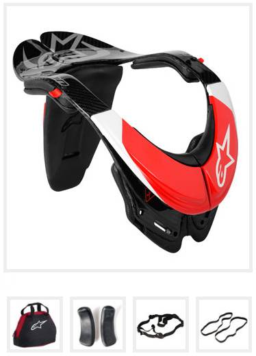 Alpinestars BNS Carbon - Bionic Neck Support size S