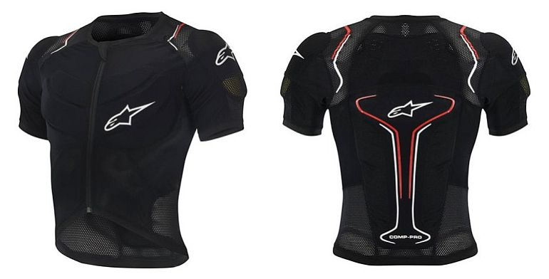 Alpinestars Evolution SS Jacket BNS compatible