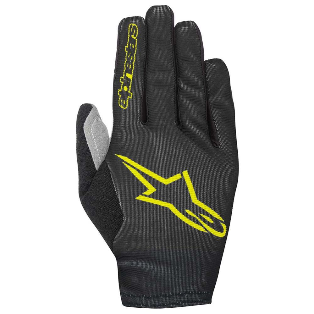 Alpinestars Aero 2 gloves Black Acid Yellow