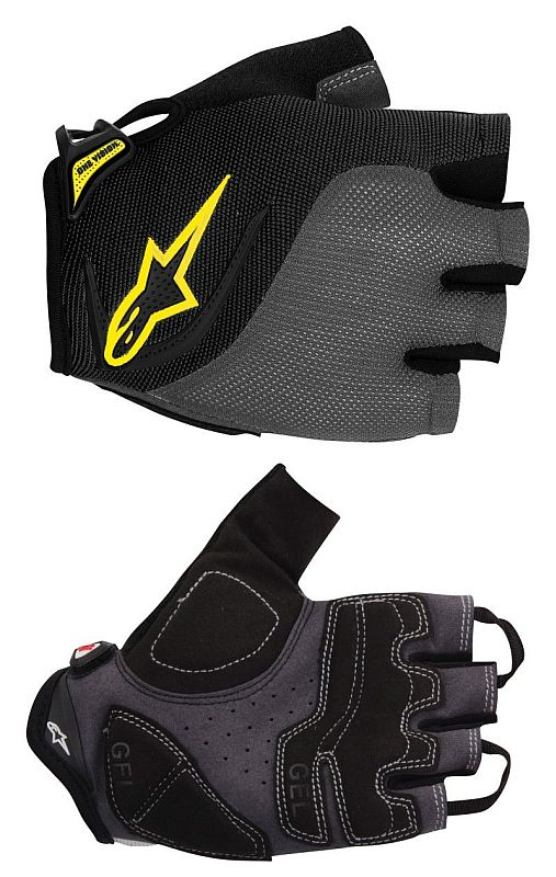 Alpinestars Pro-Light rukavice Black Gray Yellow vel. M