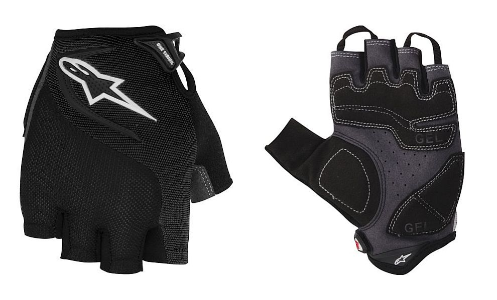 Alpinestars Pro-Light gloves Black White