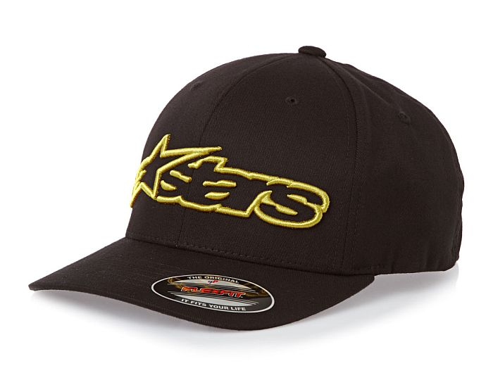 Alpinestars Blaze Flexfit hat Black / Gold