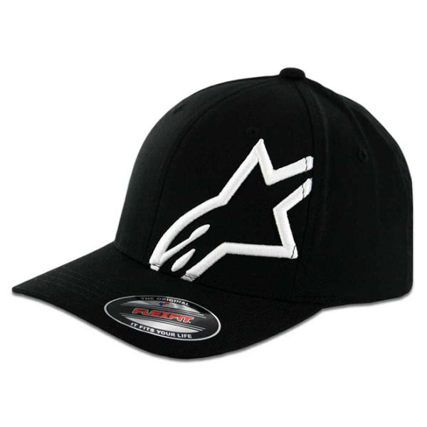 Alpinestars CorpShift 2 Flexfit hat BlackWhite