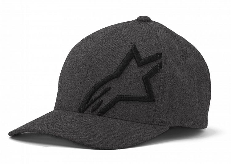 Alpinestars CorpShift 2 Flexfit hat DK Heather Gray/Black