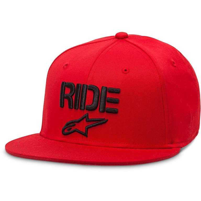 Alpinestars Circuit Ride Flat hat Flexfit Red size S/M