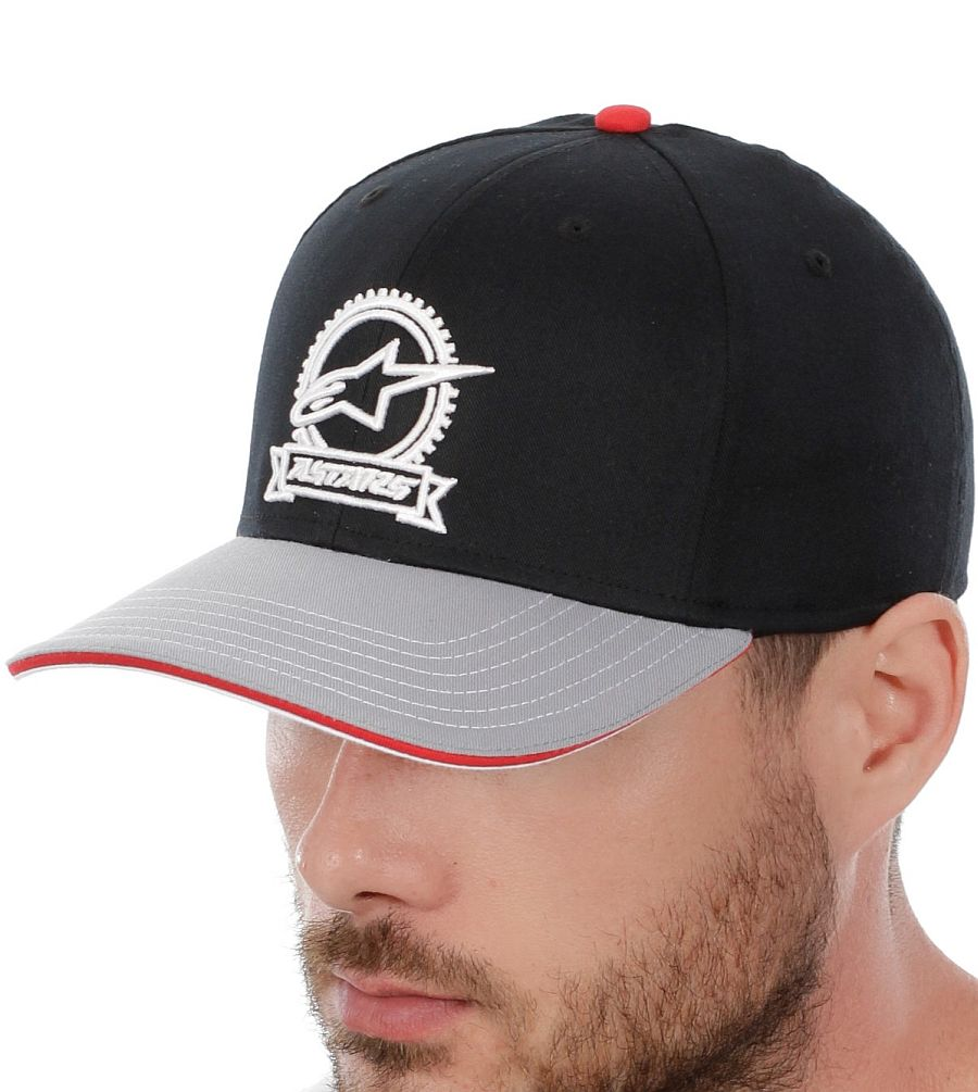 Alpinestars Rotary Flexfit hat Black / Gold