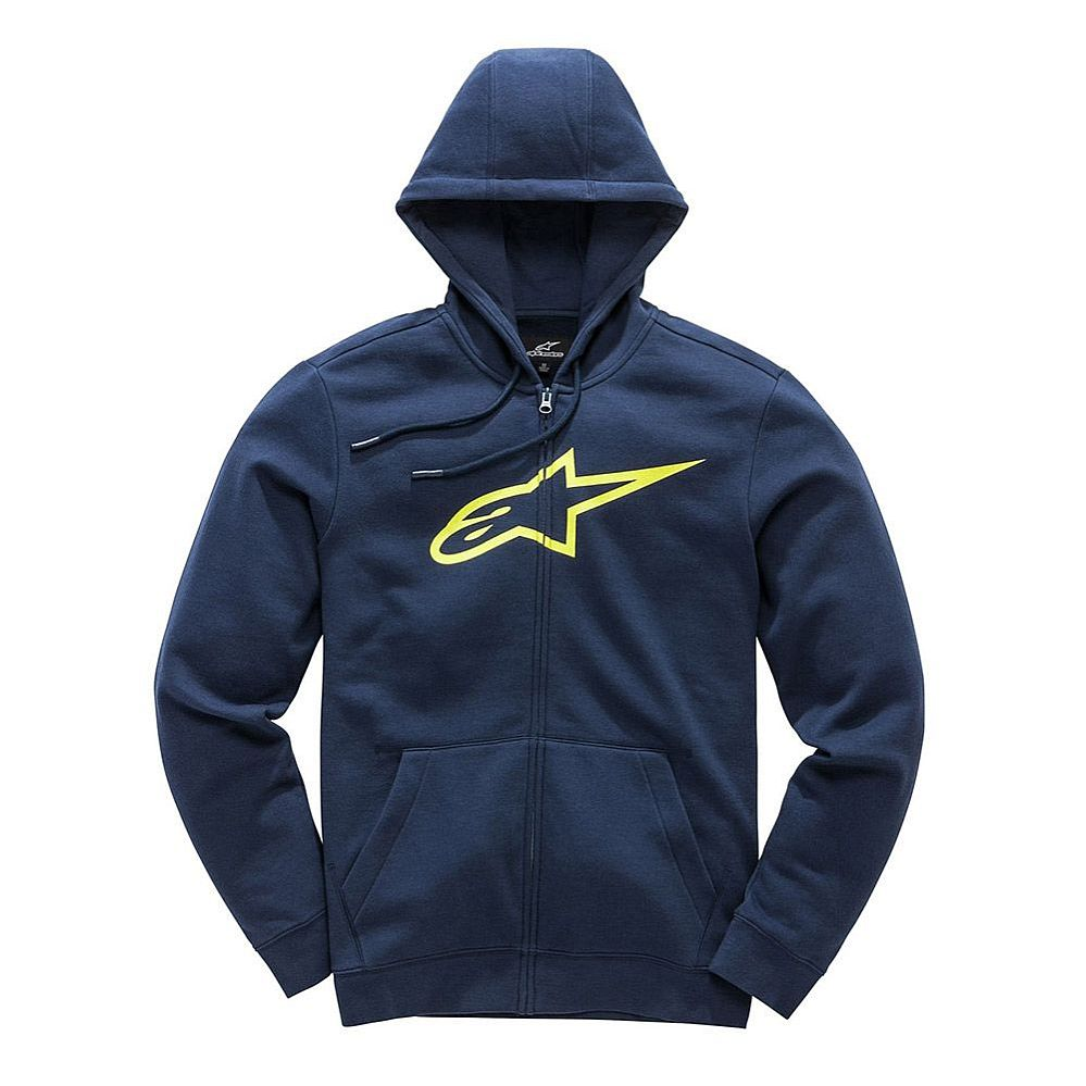 Alpinestars Ageless II Fleece hoodie Navy / Yellow