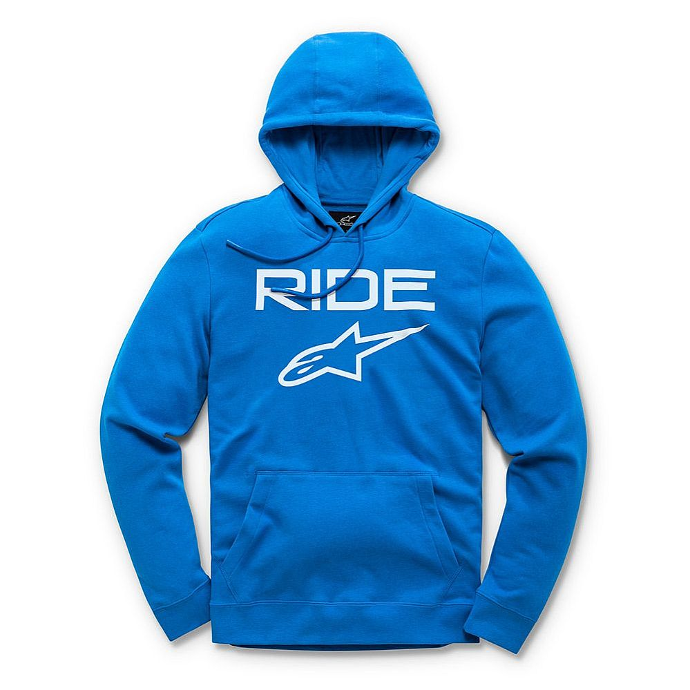 Alpinestars Ride 2.0 Fleece hoodie Bright Blue / White