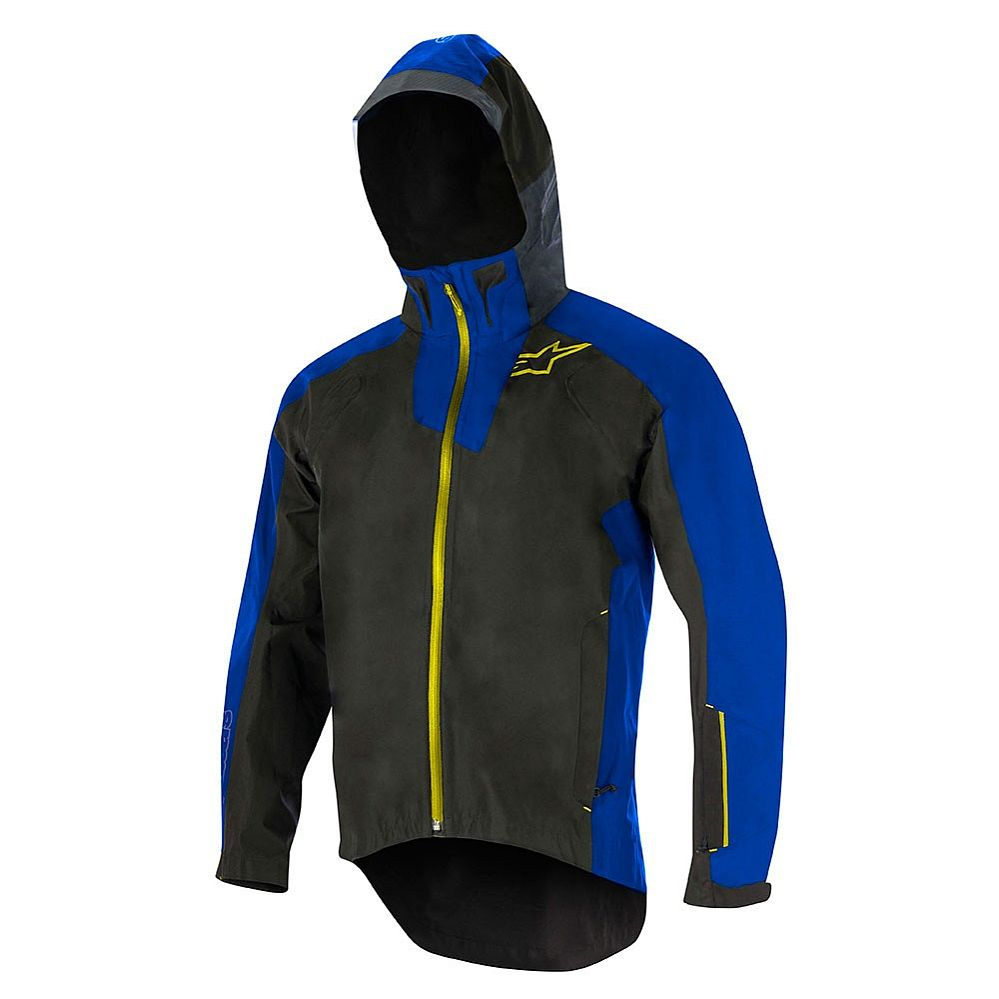 10bf8080eb Alpinestars All Mountain 2 WP Jacket Black Royal Blue