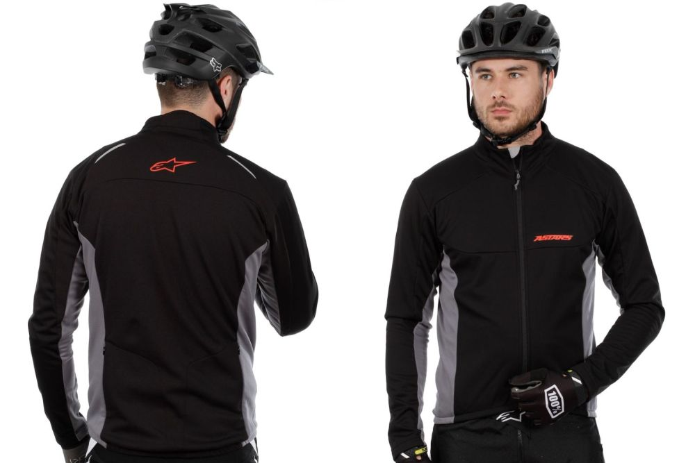 Alpinestars Cyclone Functional Jacket Black Cool Grey