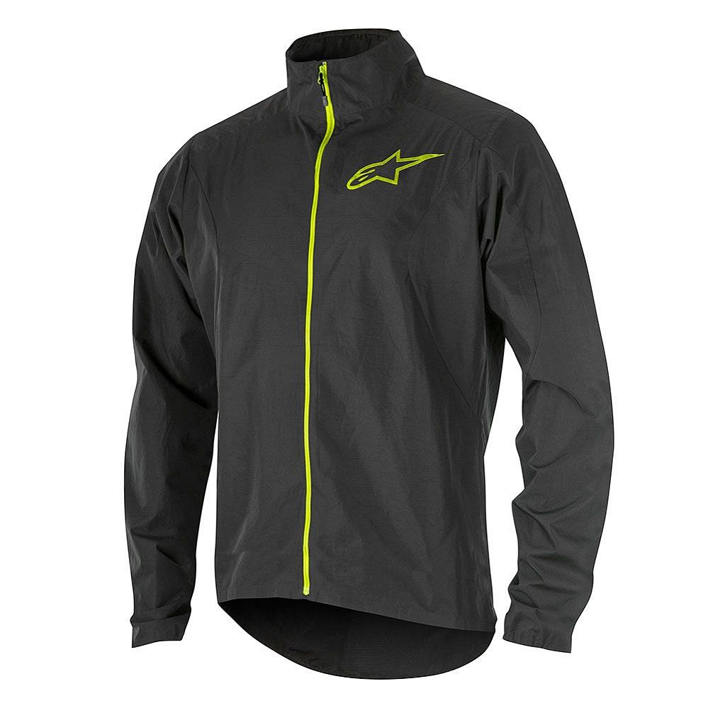 Alpinestars Descender 2 Windproof Jacket Black Acid Yellow