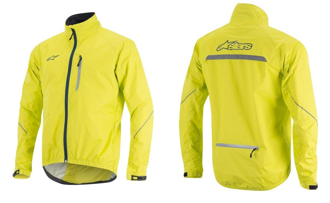 Alpinestars Descender Windproof Jacket Acid Yellow