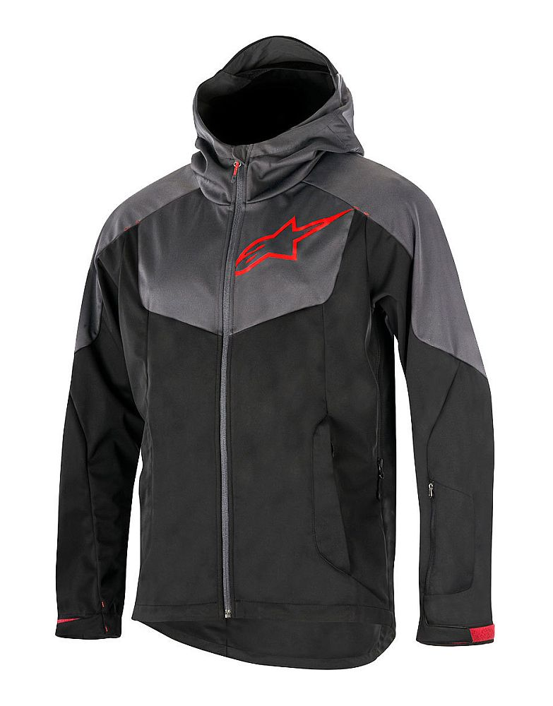 Alpinestars Milestone 2 Jacket Black Steel Grey