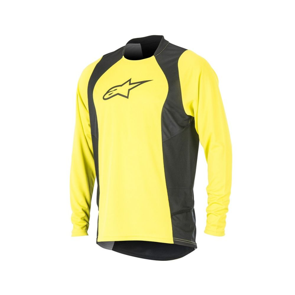 Alpinestars Drop 2 L/S Jersey Acid Yellow Black