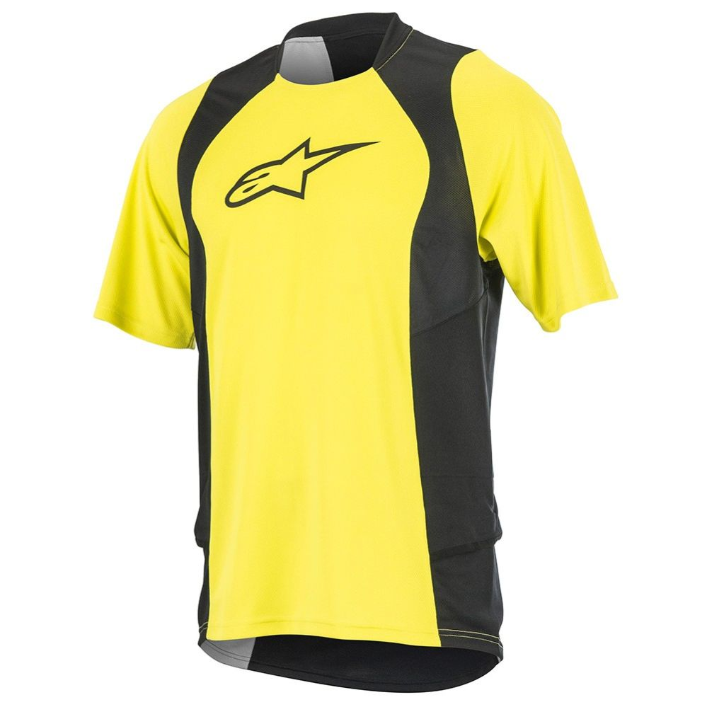 Alpinestars Drop 2 S/S Jersey dres Acid Yellow Black