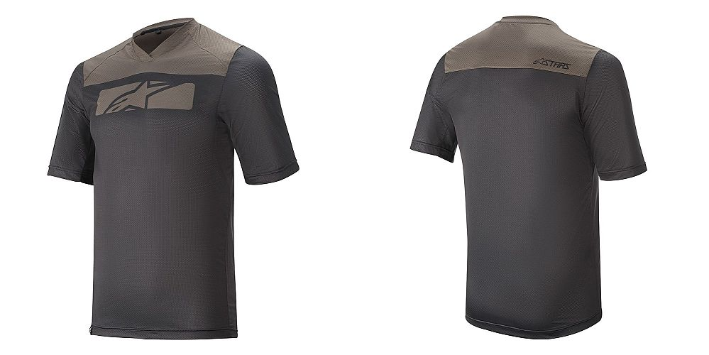 Alpinestars Drop 4.0 S/S Jersey dres - Black Dark Shadow