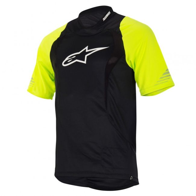 Alpinestars Drop S/S Jersey dres Fluo Yellow / Black