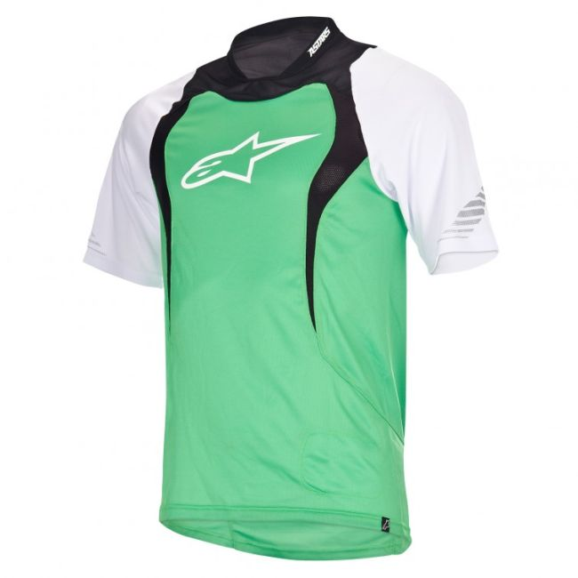 Alpinestars Drop S/S Jersey dres Green vel. XL