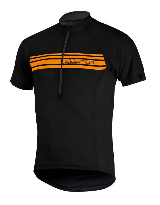 Alpinestars Lunar SS Jersey dres Black Spicy Orange