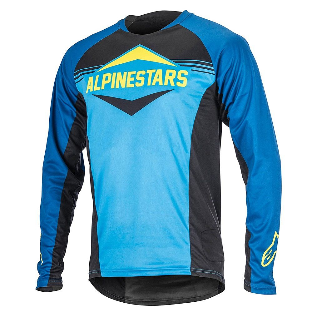 Alpinestars Mesa LS Jersey Royal Blue Bright Blue