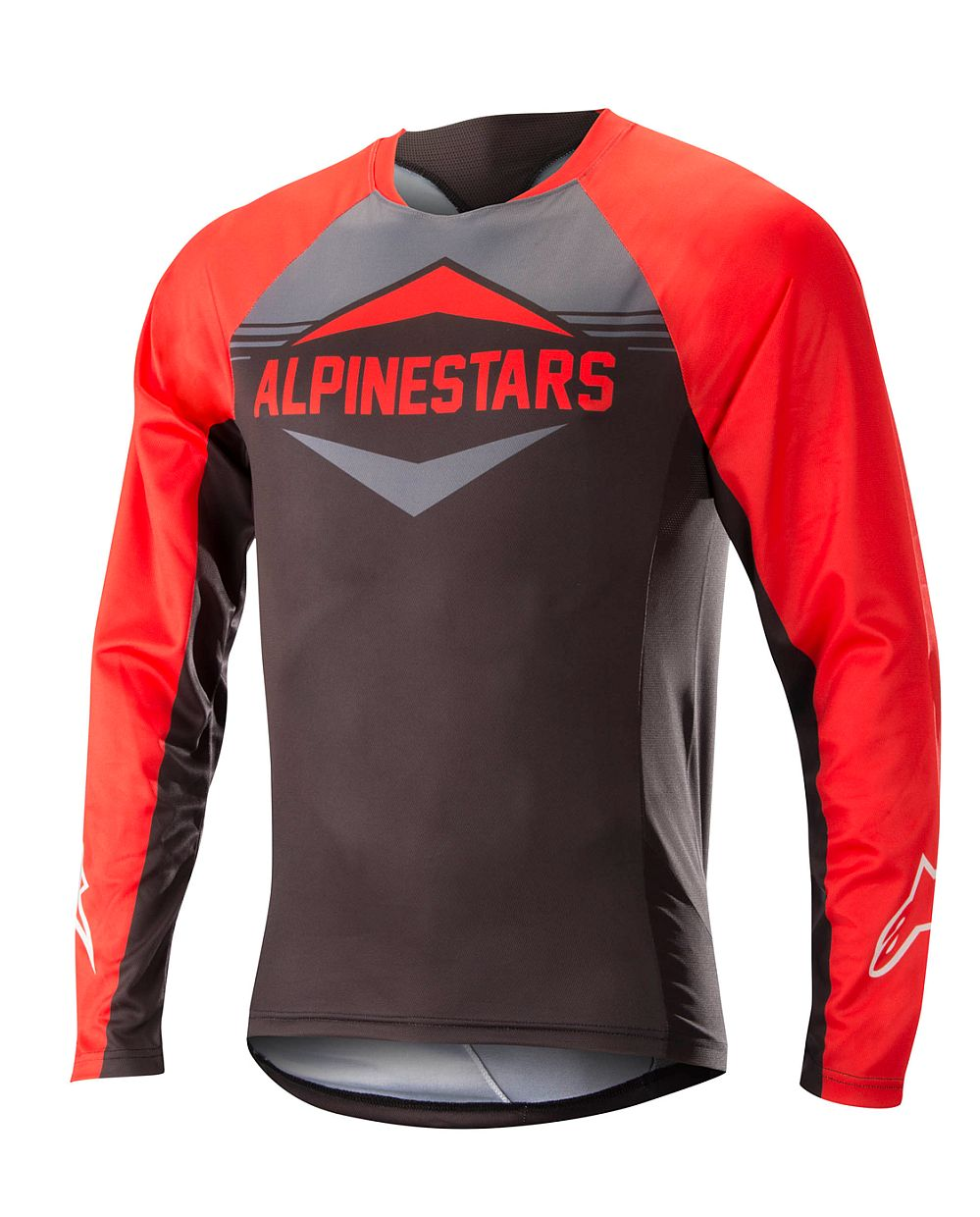 Alpinestars Mesa LS Jersey dres Red Steel Gray