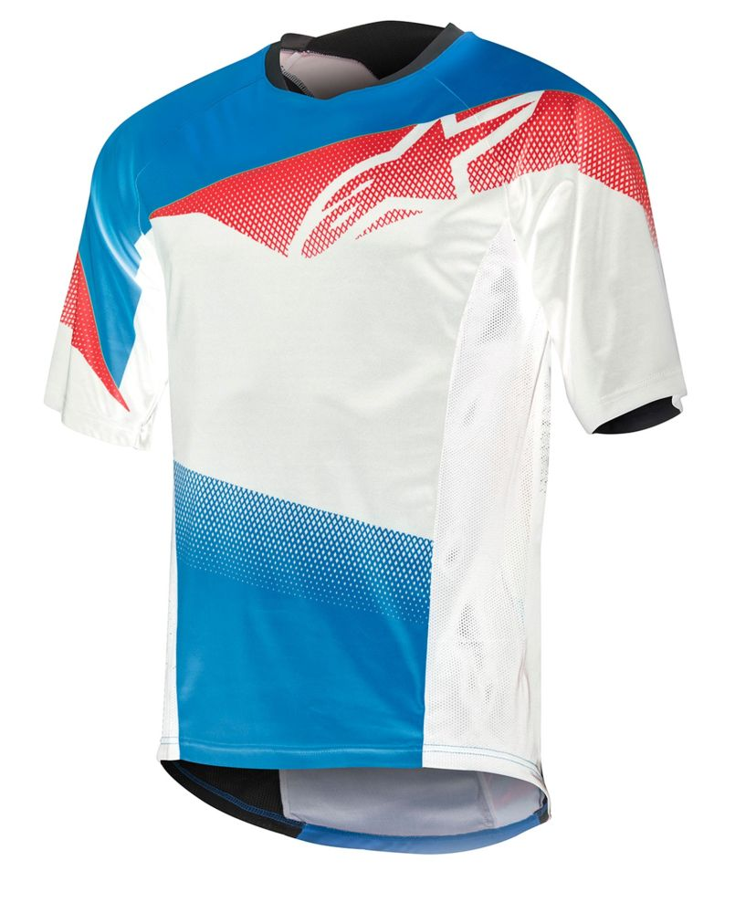Alpinestars Mesa S/S Jersey Royal Blue Red White