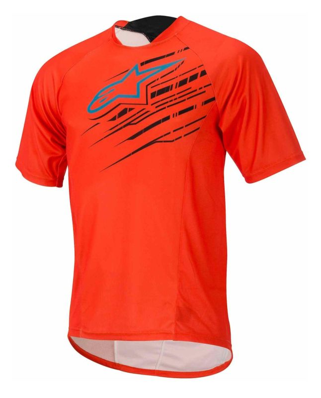 Alpinestars Mesa S/S Jersey dres Spicy Orange S. Blue vel. XL