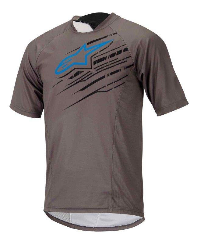 Alpinestars Mesa S/S Jersey dres Steel Gray Bright Blue vel. XL