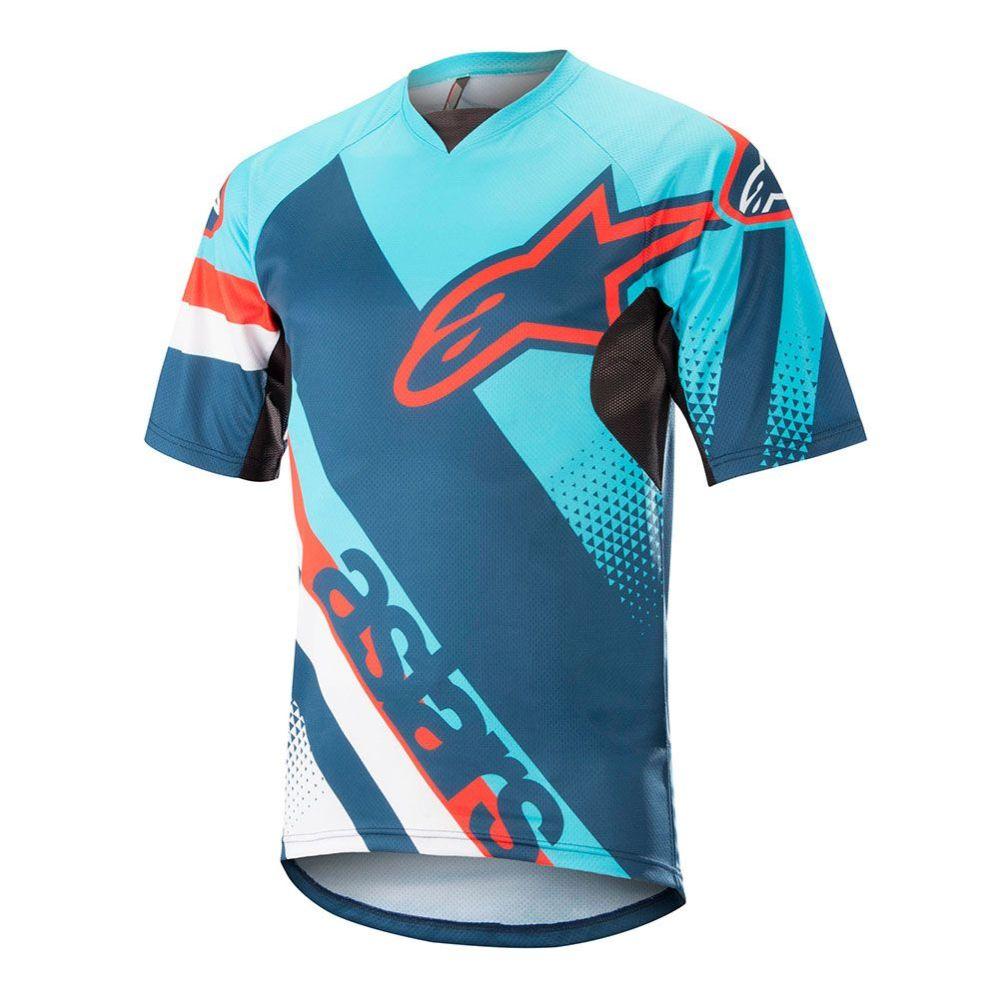 Alpinestars Racer S S Jersey - Atoll Blue Poseidon Blue 0dfbc54cb5