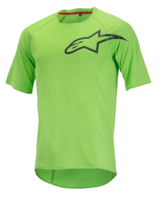 Alpinestars Rover S/S Jersey Bright green steel gray