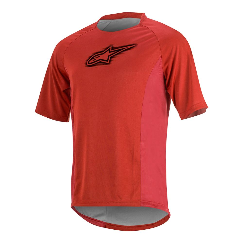Alpinestars Rover S/S Jersey - Red Black