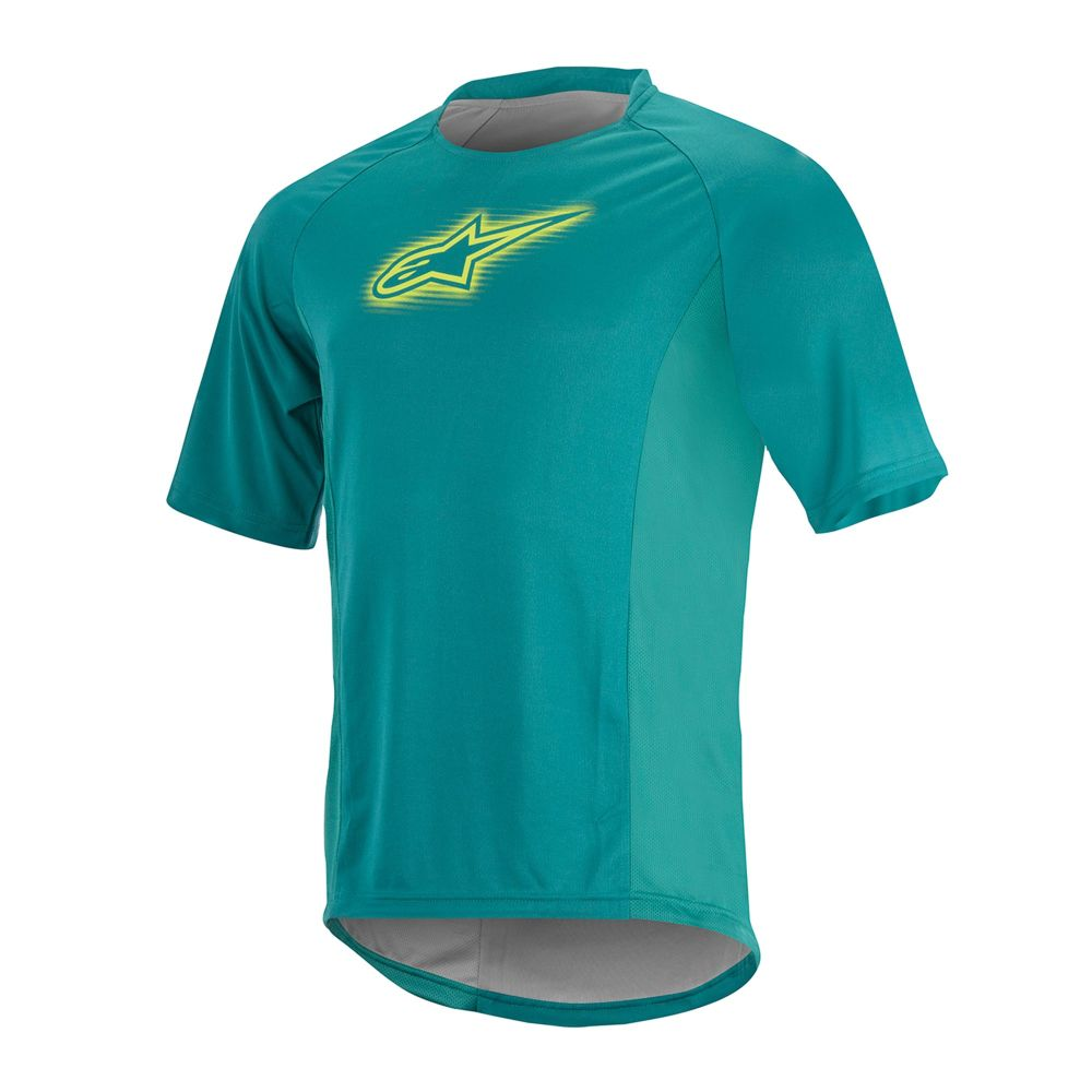 Alpinestars Rover S/S Jersey - Teal Green Lime