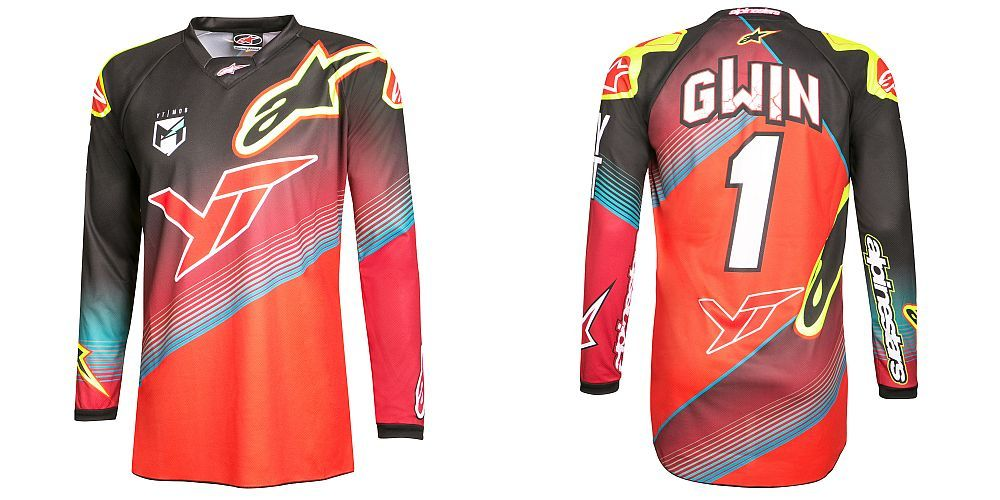 Alpinestars Sight Aaron Gwin replica L/S Jersey - size XL