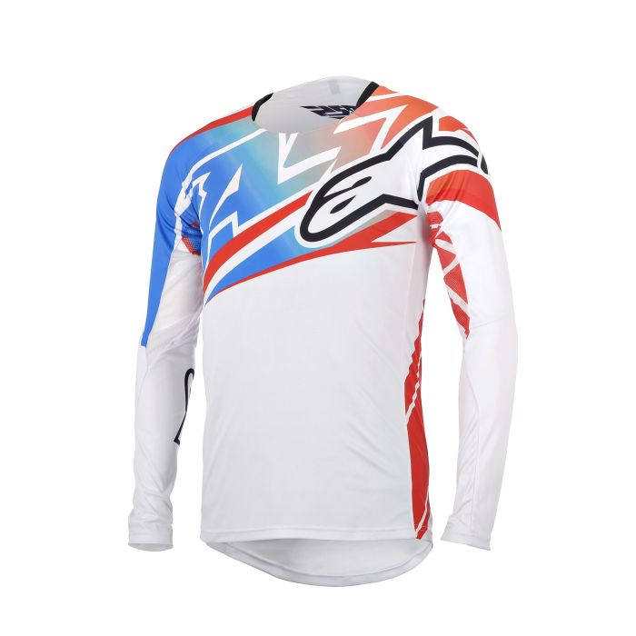 Alpinestars Sight Youth Pants White/Red/Blue