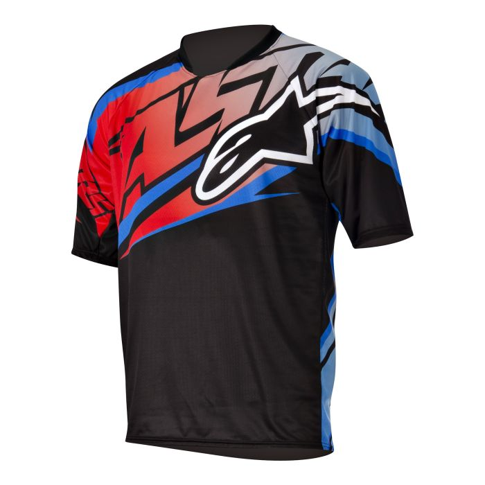 Alpinestars Sight S/S Jersey Black/Red size S