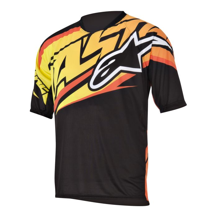 Alpinestars Sight S/S Jersey dres Black/Yellow vel. M
