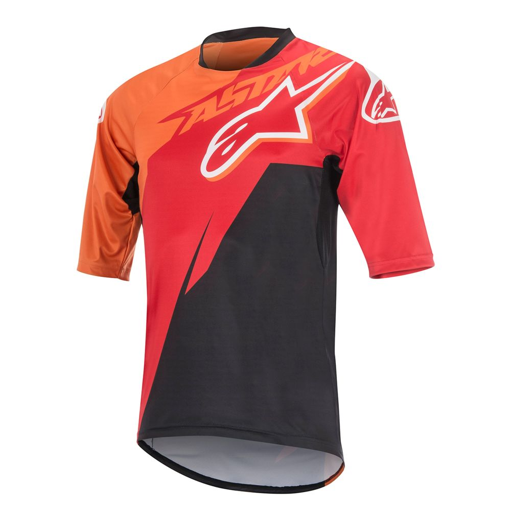 Alpinestars Sight Contender S/S Jersey Red/Bright Orange/Black