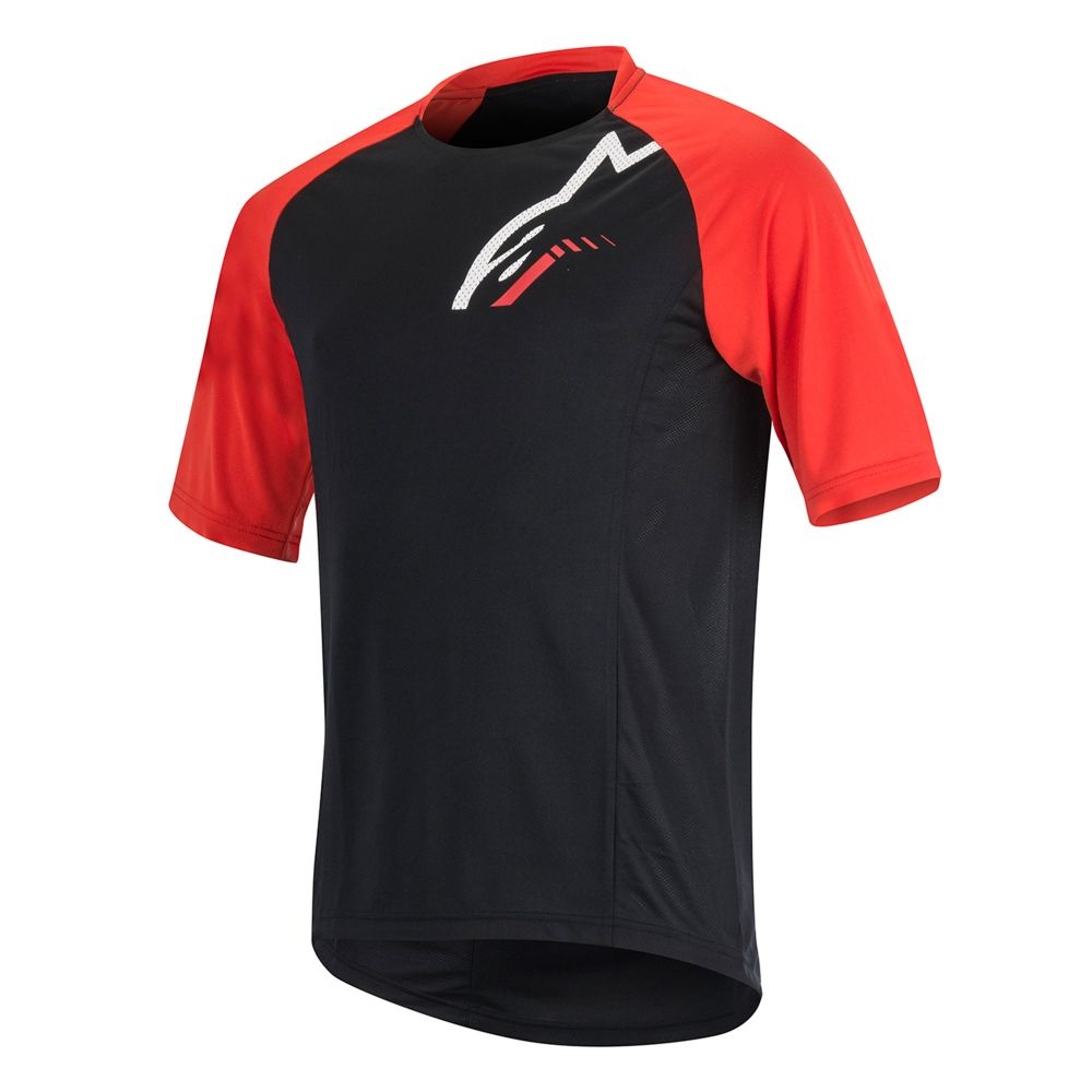 Alpinestars Trailstar SS Jersey - Black Red