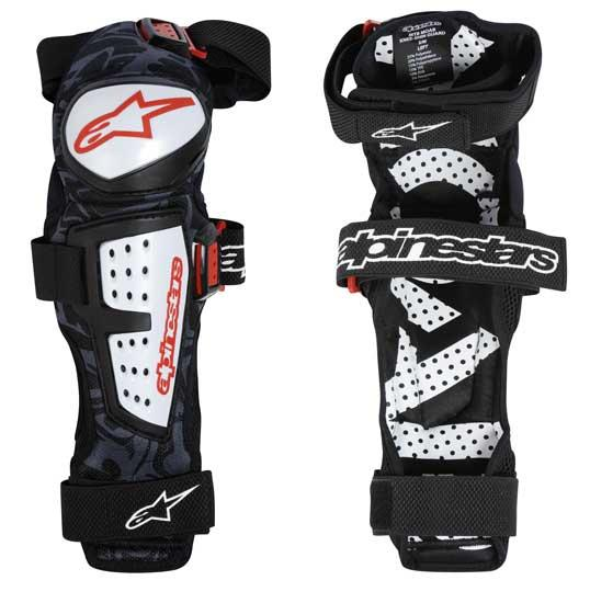 Alpinestars MOAB White - profi knee/shin guards