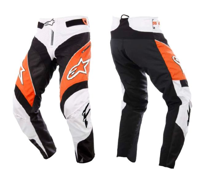 Alpinestars A-Line Pants Orange/Black/Grey