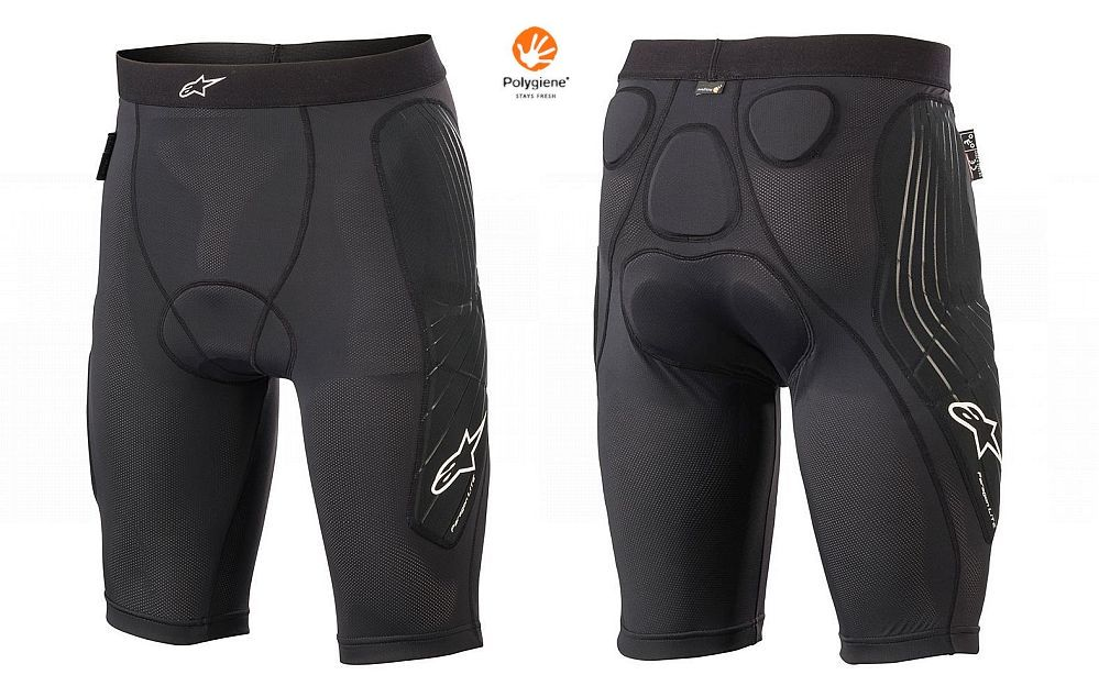 Alpinestars Paragon LITE protective shorts YOUTH + chamois