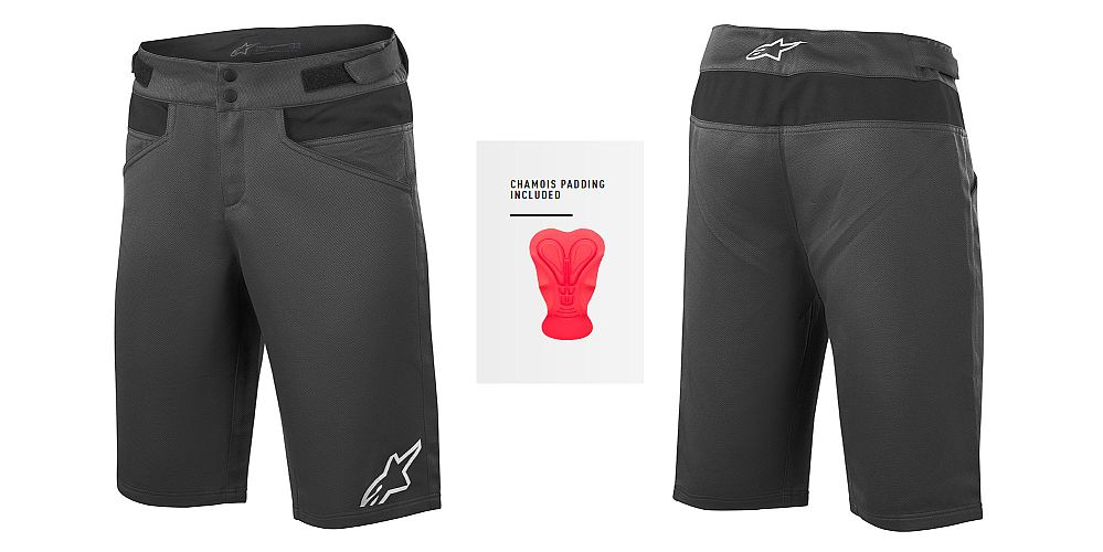 Alpinestars Drop 4.0 Shorts Black - with inner chamois