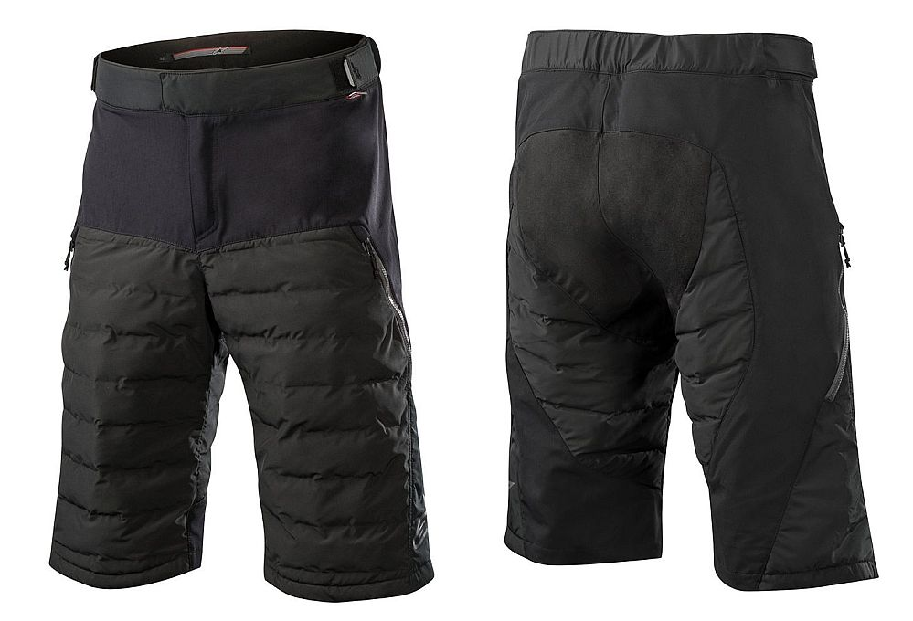 Alpinestars Denali Primaloft Insulated Shorts Black kraťasy