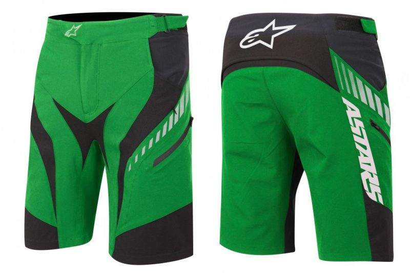 Alpinestars Drop Shorts Bright Green / White