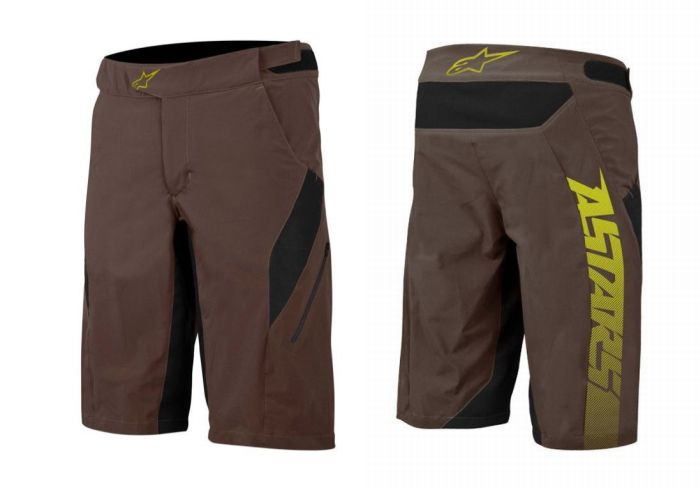 Alpinestars Hyperlight Shorts Chocolade hnědé