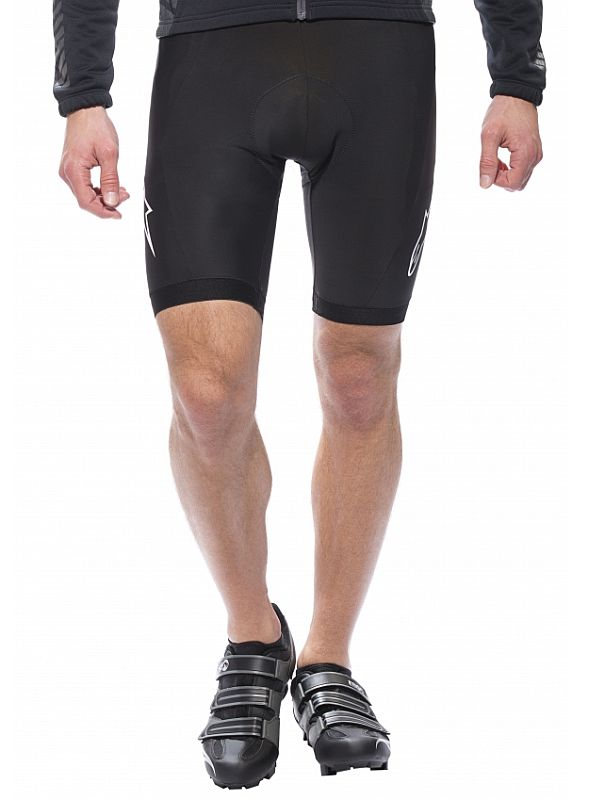 Alpinestars Nemesis BIB shorts White/Black/Red