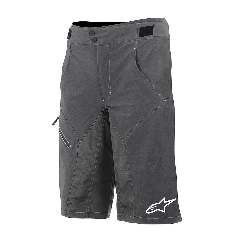 Alpinestars Outrider BASE WR Shorts Dark Shadow White